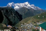 Namche valley and Kongde ri (6186m)