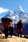 Mt. Ama Dablam (6856m) from Kenjoma